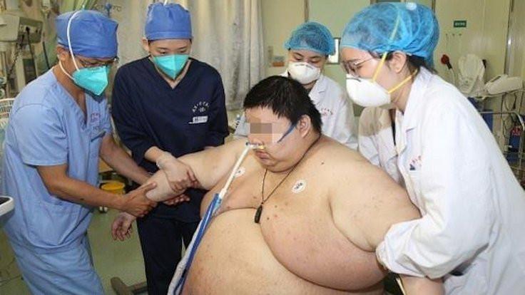 Karantinada 102 kilo aldı!