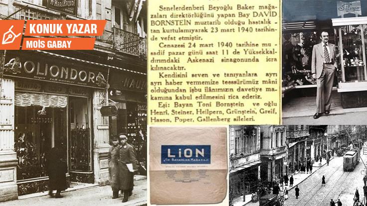 Beyoğlu moda yaşamında Yahudiler 4: Beyoğlu'nun kumaş ve kıyafet mağazaları