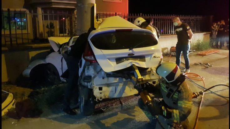 Bursa'da kaza: 3 ölü, 1 yaralı