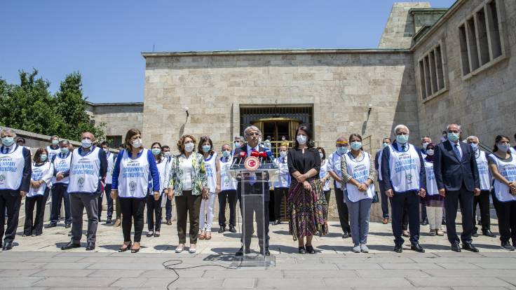 Sancar: Gelin barışın inşa gücü olalım