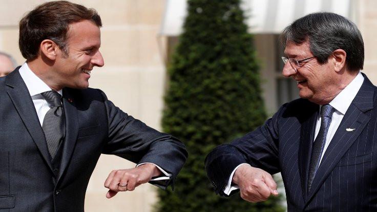 Macron'dan Doğu Akdeniz için 'yaptırım' çağrısı