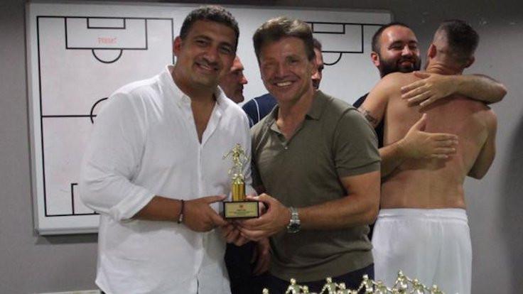 Antalyaspor'da rekor ödülü