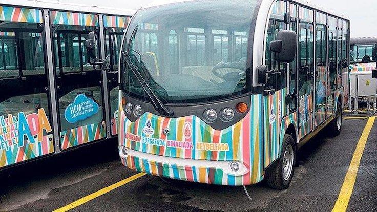 Adalar'da elektrikli araçların ücreti 12 TL