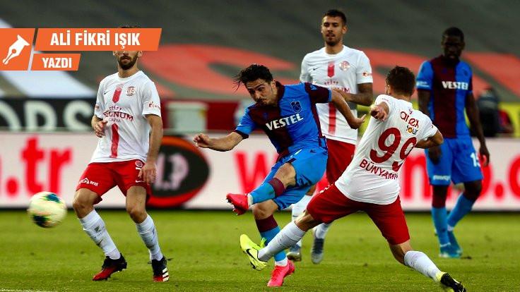 Trabzonspor iki puanı neden bıraktı?