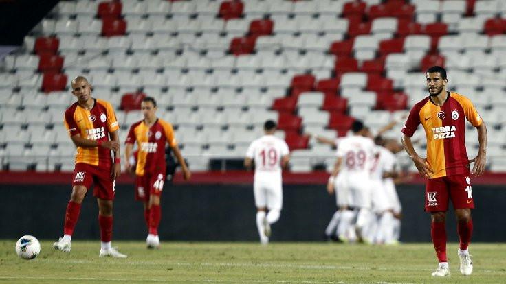 Galatasaray, galibiyeti koruyamadı