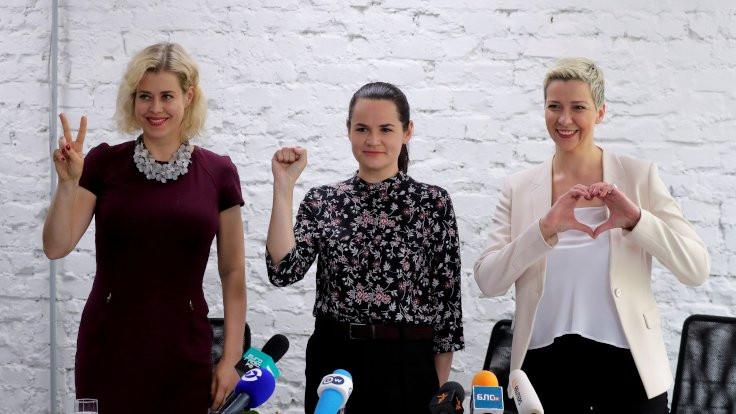 Belarus'ta üç kadın aday Lukaşenko'ya karşı