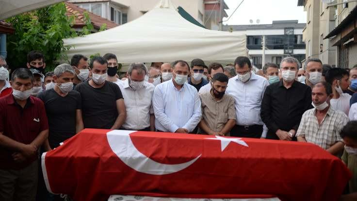 Patlamada ölen işçi defnedildi