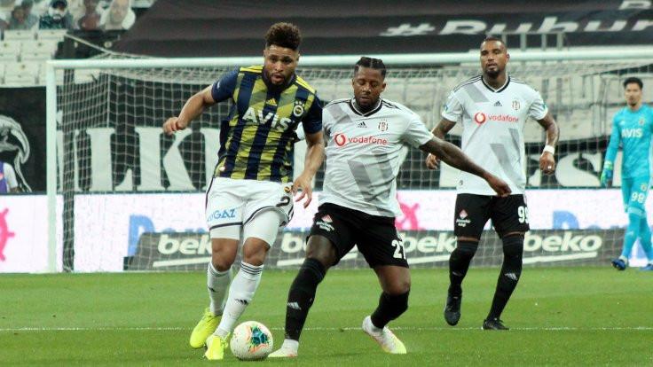 Süper Lig'in son derbisinde zafer Beşiktaş'ın
