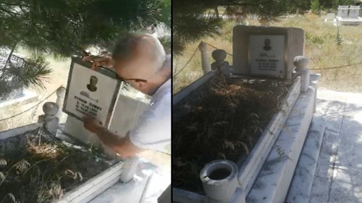 Mezarlar için güneş enerjili duamatik