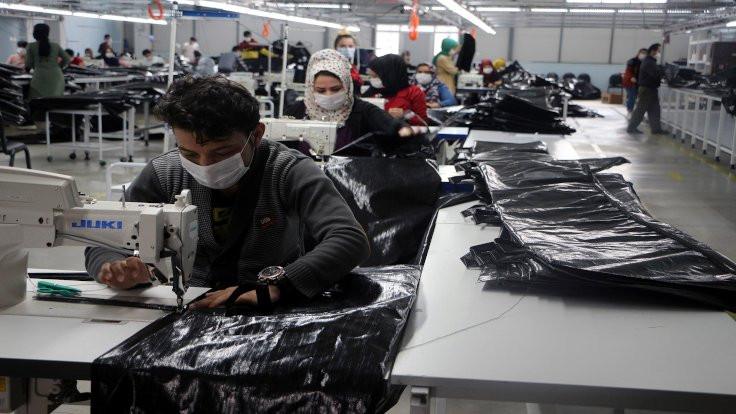 Tekstil fabrikası karantinaya alındı