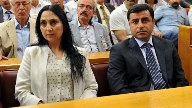 Demirtaş ve Yüksekdağ'a tutukluluk incelemesi