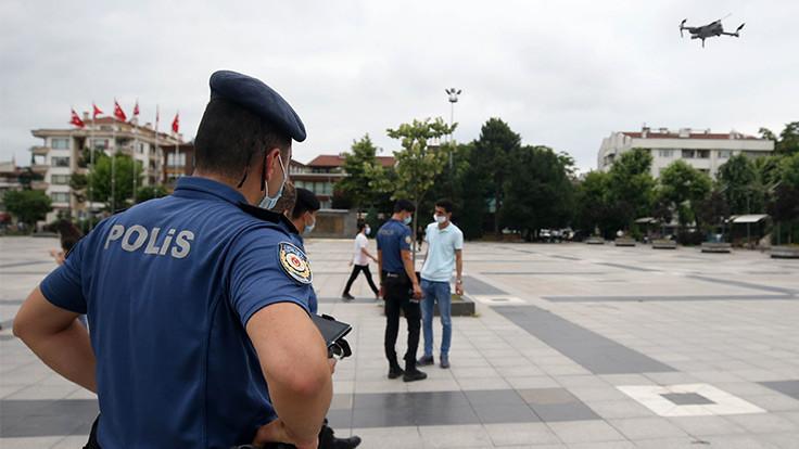 Gaziantep'te 1 günde 3227 kişiye ceza