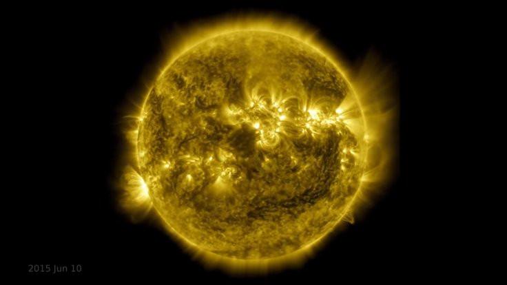 NASA'dan Güneş'in son 10 yılının videosu