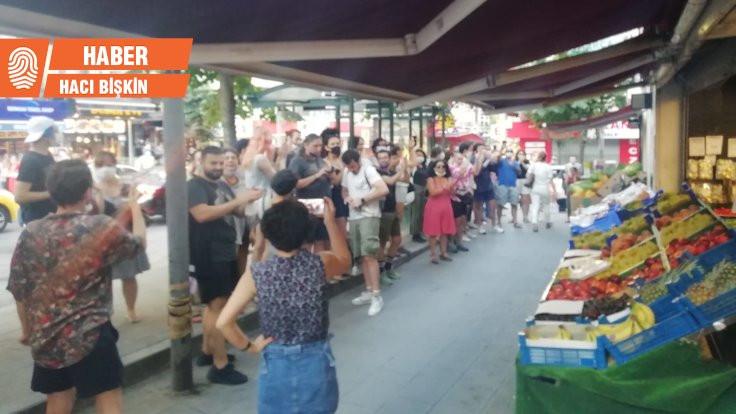 Şişli'de trans bireye saldıran markete protesto