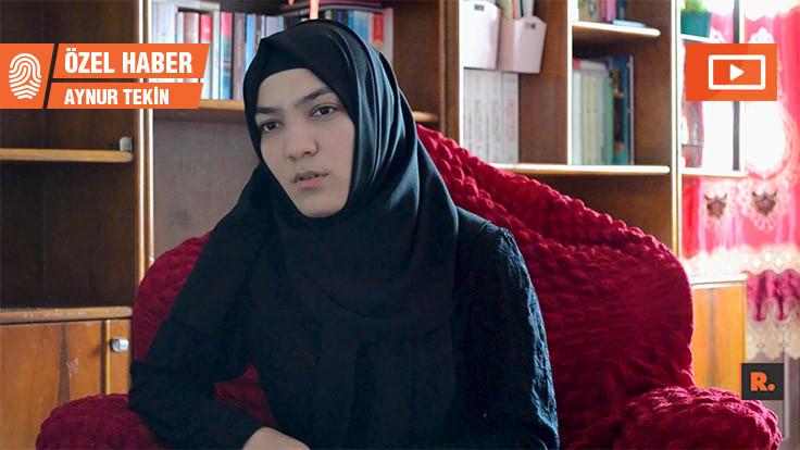 'Eşim siyasi eğitim kampında, babam cezaevinde'