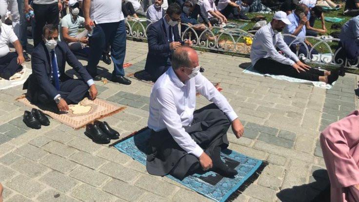 'Ayasofya'ya değil Sultanahmet'e gittim'