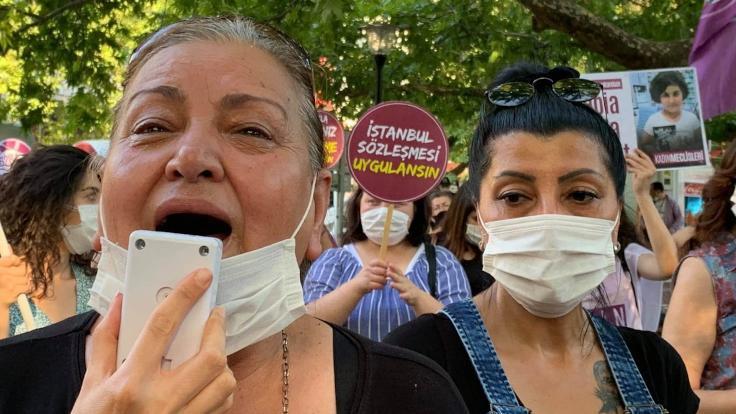 'İstanbul Sözleşmesi kadınların can güvenliği'