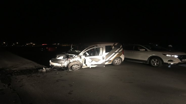 Kayseri'de kaza: 2'si ağır 6 yaralı