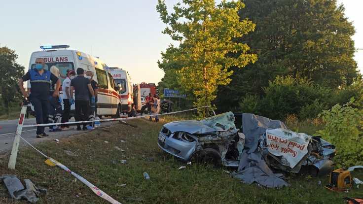 Kocaeli'nde kaza: Aynı aileden 5 kişi öldü