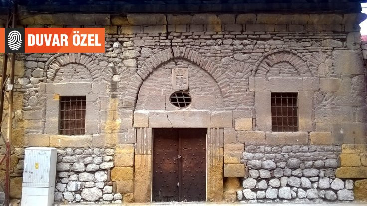 Depo olarak kullanılan 190 yıllık kilise