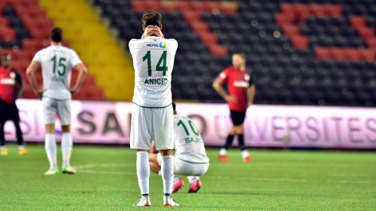 Gaziantep FK, Konyaspor'u ateşe attı