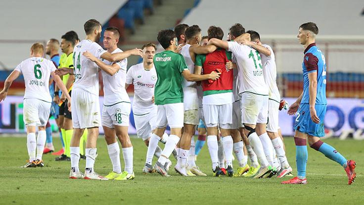 7 gollü maçta Trabzonspor mağlup
