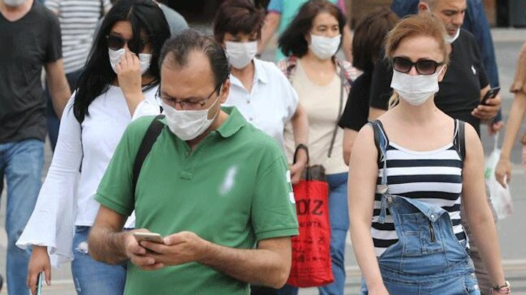 Sinop'ta maske takma zorunluluğu