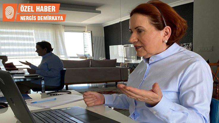 Akşener: Seçime yönelik altyapı hazırlanıyor