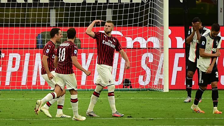 Zlatan'lı Milan, Ronaldo'lu Juventus'u devirdi