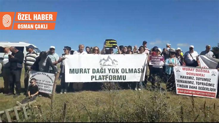 Murat Dağı'nda altın aranamayacak