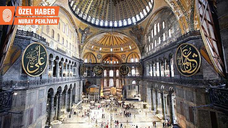 Bizans Kongresi'nde 'Ayasofya' depremi