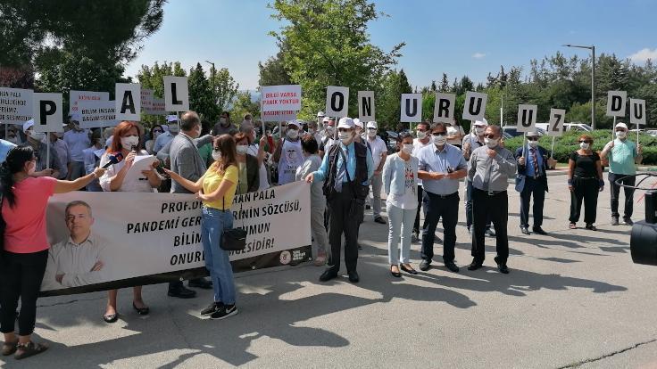 'Paniğe halk değil Bursa Valiliği kapıldı'