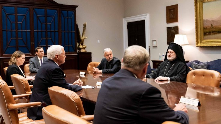 Ayasofya görüşmesine Trump da katıldı