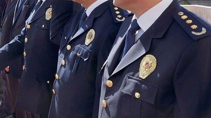 Birçok rütbeli polisin yeri değişti