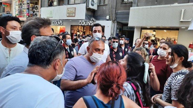 Pınar Gültekin için yürüyen kadınlara saldırı