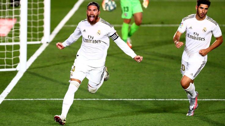 Ramos, Madrid'i şampiyonluğa taşıyor