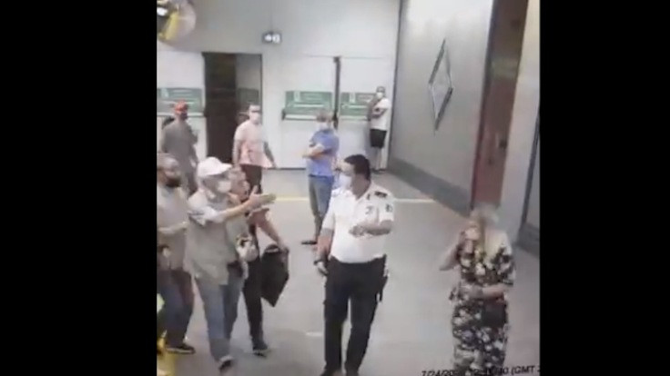 Ayasofya yolcuları kadın makiniste saldırdı