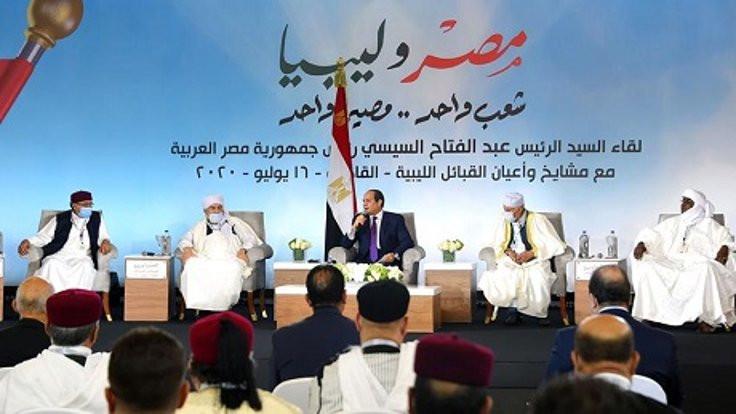 Sisi, Libyalı aşiretleri Kahire'de ağırladı