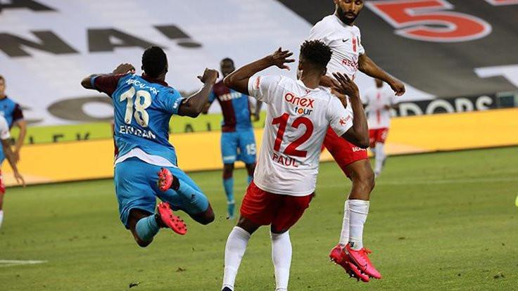 Trabzon'da dişe diş mücadele: 2-2