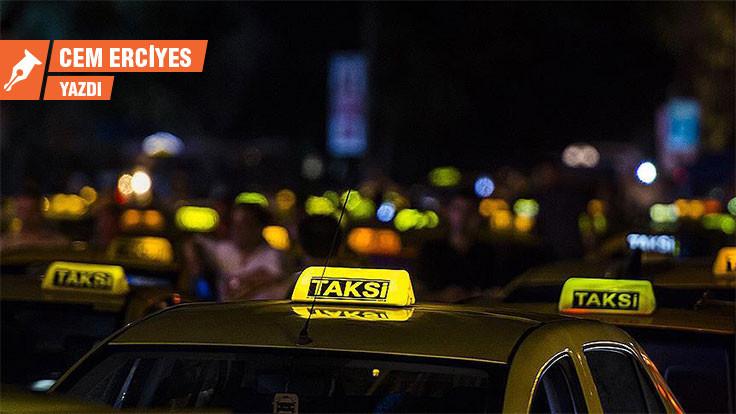 Taksiler artık böyle gitmez