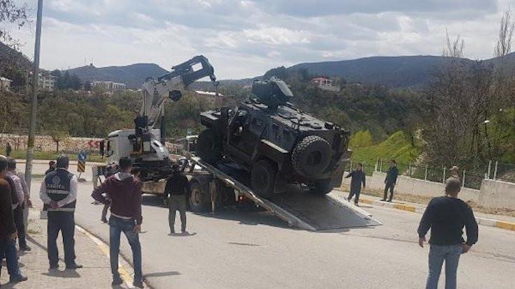 Zırhlı araç ile otomobil çarpıştı: 1 ölü