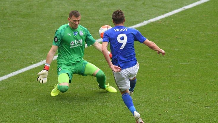 Jamie Vardy, 100'üncü Premier Lig golünü attı