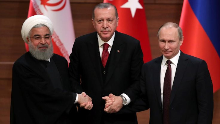 Türkiye-Rusya-İran, Suriye'yi görüştü