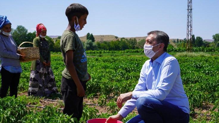 Bakana çocuk işçi tepkisi: Bu ülkenin ayıbı