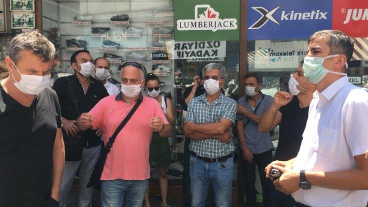 Diyanet İşleri Başkanı'na karşı eyleme polis engeli