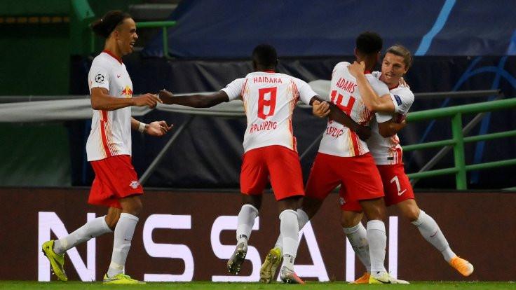 Leipzig, yarı finale yükseldi