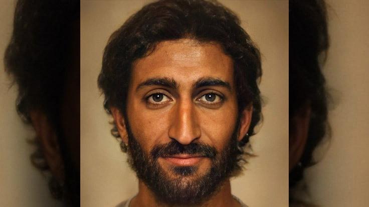 İsa'nın yapay zekayla oluşturulan portresi