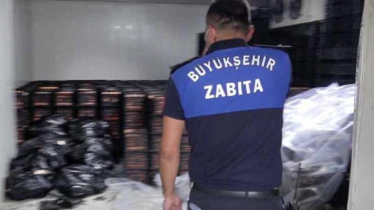 Adana'da 38 ton bozuk et bulundu