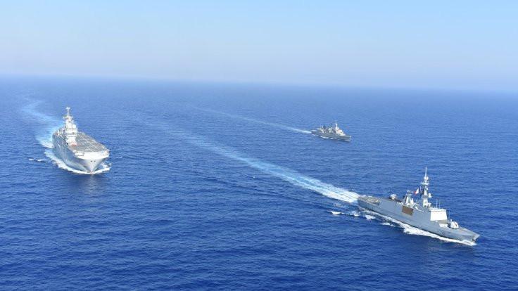 Fransa'dan Doğu Akdeniz'de tatbikat açıklaması