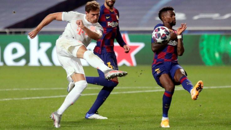 Bayern Münih'ten Barcelona'ya 8 gol